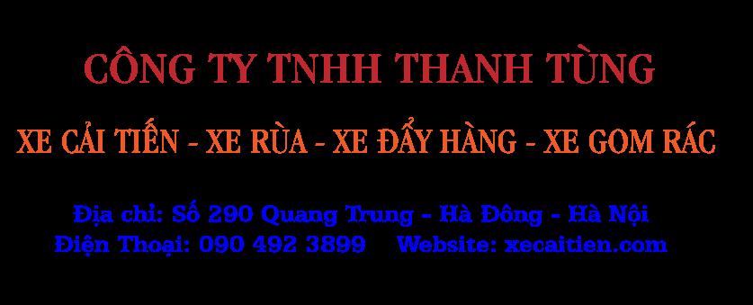 Xe cải tiến Thanh Tùng