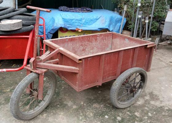 Xe công trường 3 bánh
