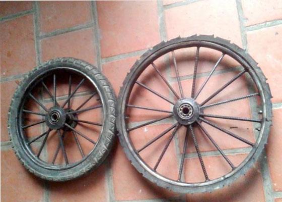 Bộ vành bánh xe cải tiến